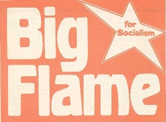 big flame logo