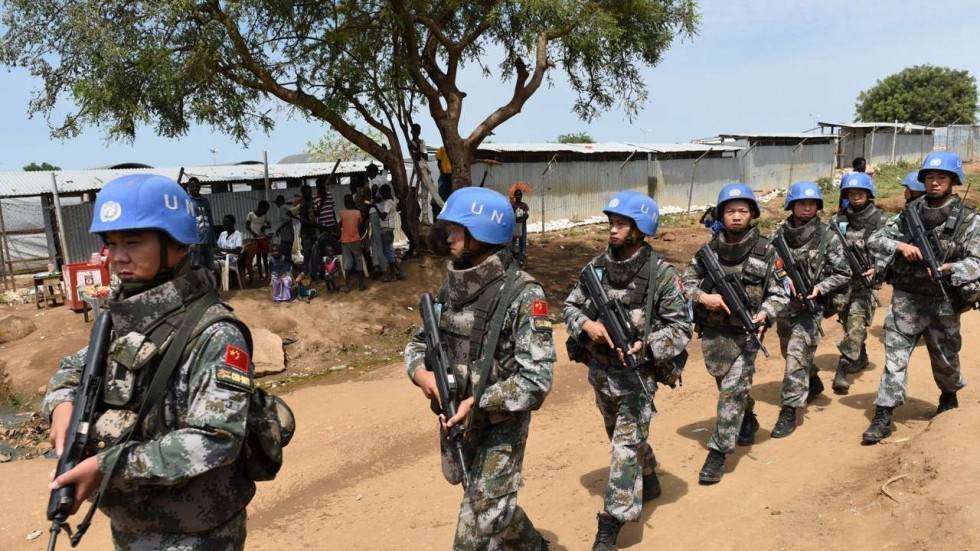 Chinese UN troops