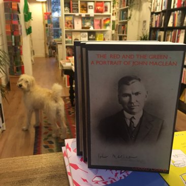 johnmacleanbook on saale at Lighthouse, Edinburgh's radical bookshop.