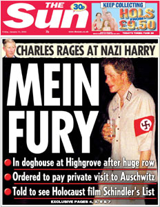 Prince Harry Nazi-Costume