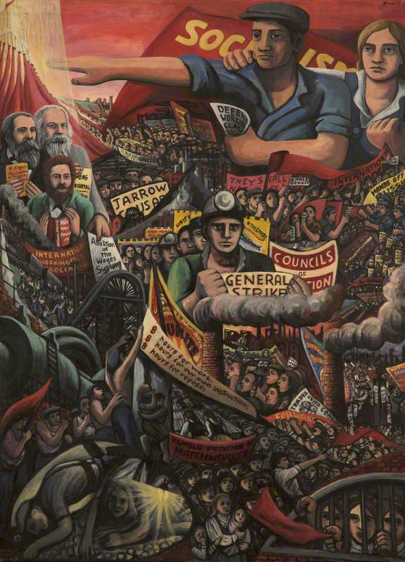 Scott, Maureen, b.1940; The History of Labour