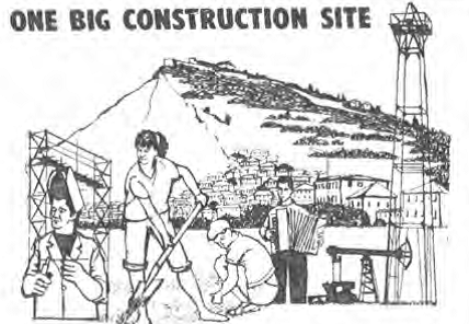 one big construction