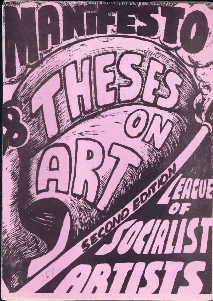 Thesis on Art cover