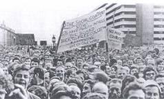 Leyland Longbridge workers 1977