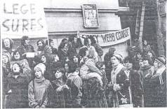 London student teachers 1977