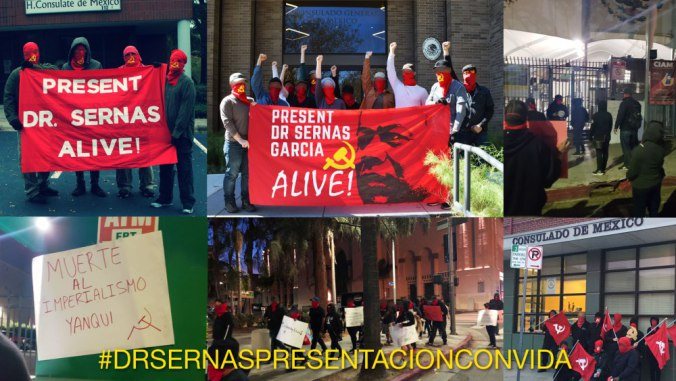 2018 coordinated protest at mexican consulates