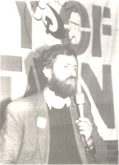 Jeremy Corbyn MP welcoming the delegates to his consistency