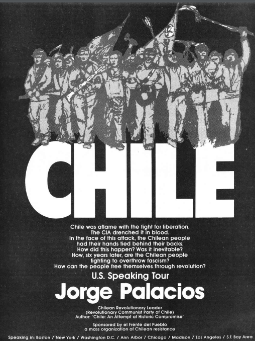 Chile speaking tour